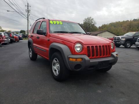 2004 Jeep Liberty for sale at Elk Avenue Auto Brokers in Elizabethton TN