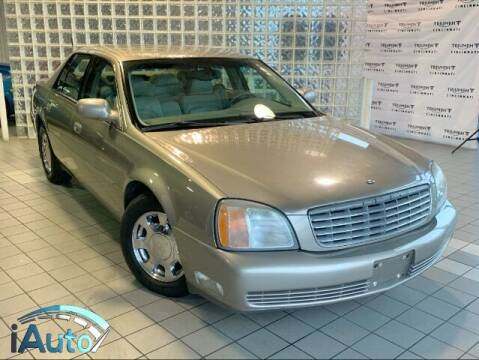 2001 Cadillac DeVille for sale at iAuto in Cincinnati OH
