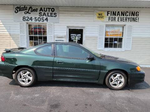 2003 Pontiac Grand Am for sale at STATE LINE AUTO SALES in New Church VA