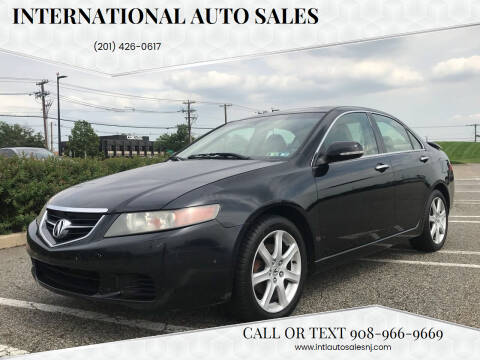 2004 Acura TSX for sale at International Auto Sales in Hasbrouck Heights NJ