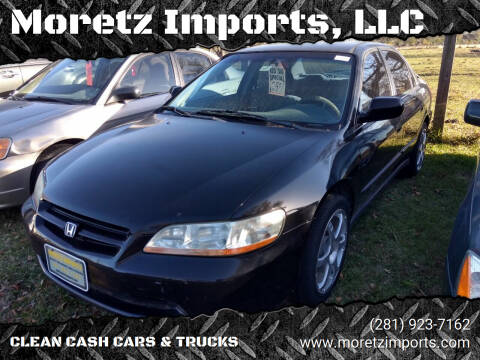 1999 Honda Accord for sale at Moretz Imports, LLC in Spring TX