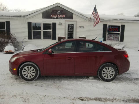 2011 Chevrolet Cruze for sale at R & L AUTO SALES in Mattawan MI