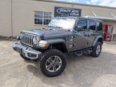 2018 Jeep Wrangler Unlimited for sale at Quality Auto of Collins in Collins MS
