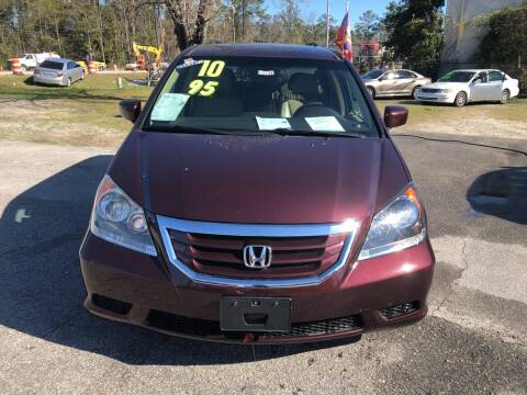 2010 Honda Odyssey for sale at County Line Car Sales Inc. in Delco NC