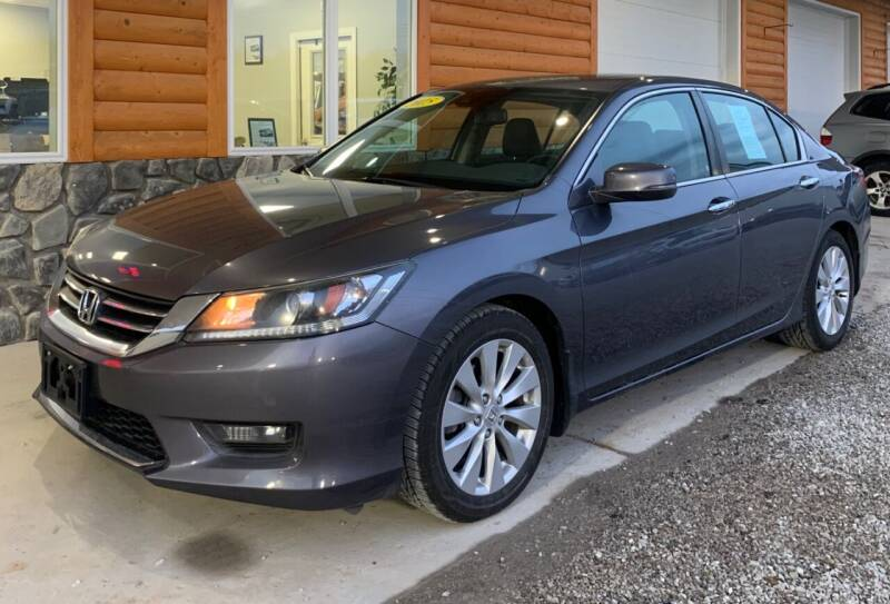2015 Honda Accord for sale at MARIETTA MOTORS LLC in Marietta OH