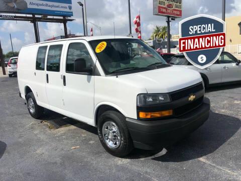 2019 Chevrolet Express Cargo for sale at MACHADO AUTO SALES in Miami FL