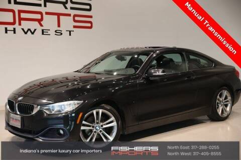 2014 BMW 4 Series for sale at Fishers Imports in Fishers IN