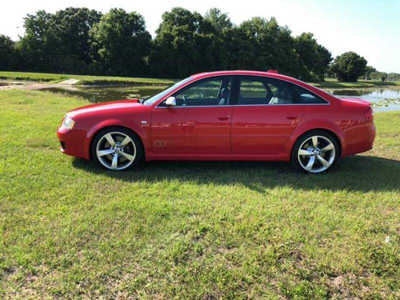 2003 Audi RS 6 for sale at Unique Sport and Imports in Sarasota FL