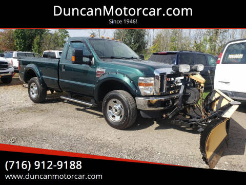 2009 Ford F-350 Super Duty for sale at DuncanMotorcar.com in Buffalo NY