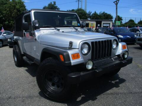 2004 Jeep Wrangler for sale at Unlimited Auto Sales Inc. in Mount Sinai NY