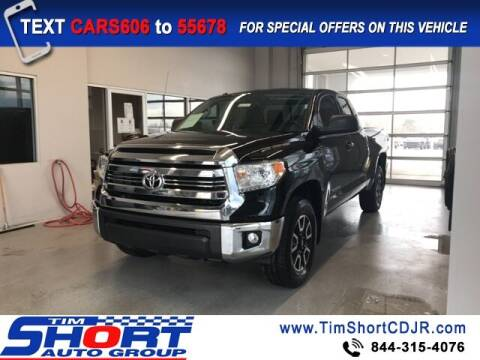 2017 Toyota Tundra for sale at Tim Short Chrysler in Morehead KY