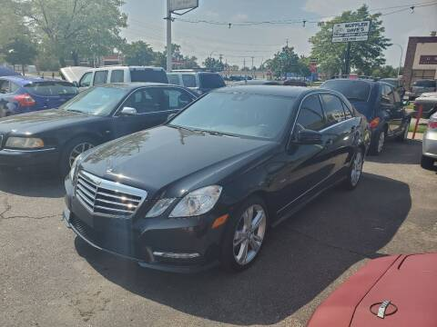 2012 Mercedes-Benz E-Class for sale at J & J Used Cars inc in Wayne MI