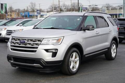 2018 Ford Explorer for sale at Preferred Auto Fort Wayne in Fort Wayne IN
