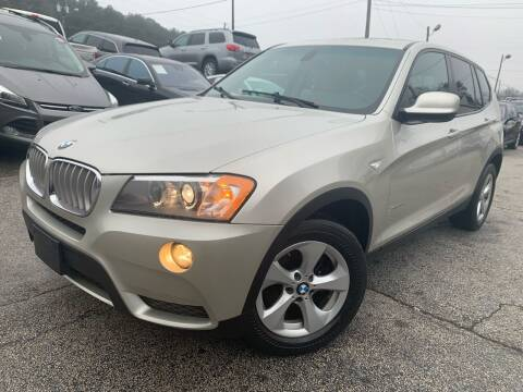 2012 BMW X3 for sale at Philip Motors Inc in Snellville GA