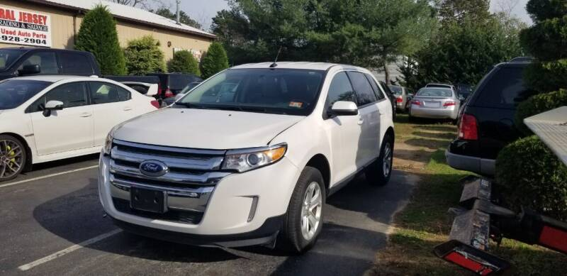 2014 Ford Edge for sale at Central Jersey Auto Trading in Jackson NJ
