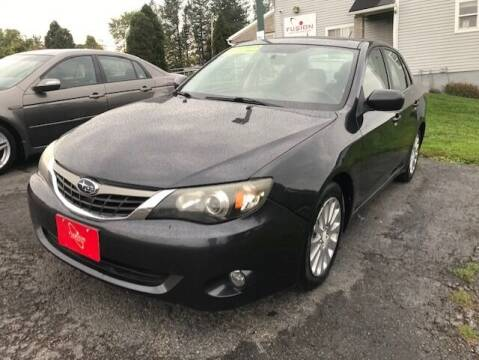 2009 Subaru Impreza for sale at FUSION AUTO SALES in Spencerport NY