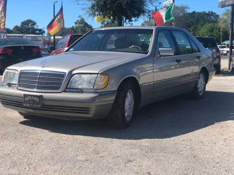 1996 Mercedes-Benz S-Class for sale at Pro Cars Of Sarasota Inc in Sarasota FL
