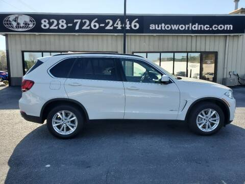 2015 BMW X5 for sale at AutoWorld of Lenoir in Lenoir NC