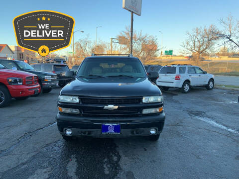 2002 Chevrolet Tahoe for sale at E H Motors LLC in Milwaukee WI
