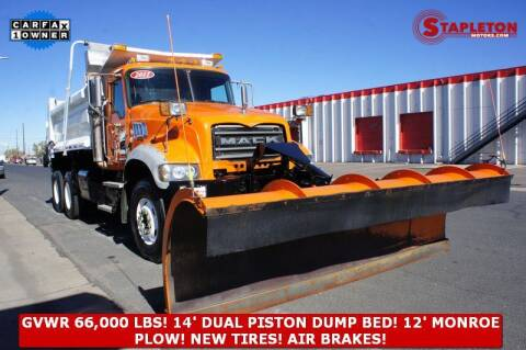 2011 Mack Granite for sale at STAPLETON MOTORS in Commerce City CO