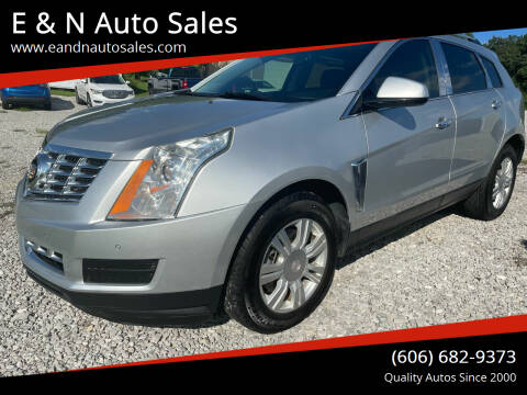 2016 Cadillac SRX for sale at E & N Auto Sales in London KY