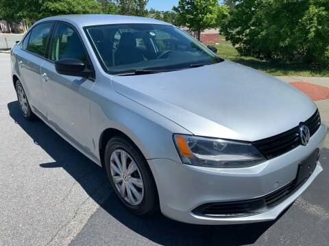 2013 Volkswagen Jetta for sale at LA 12 Motors in Durham NC
