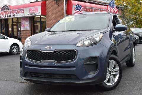 2019 Kia Sportage for sale at Foreign Auto Imports in Irvington NJ