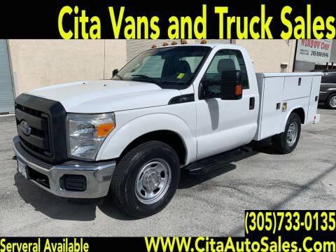 2012 Ford F350 SD UTILITY TRUCK for sale at Cita Auto Sales in Medley FL