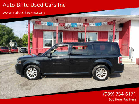 2013 Ford Flex for sale at Auto Brite Used Cars Inc in Saginaw MI