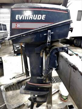 EVINRUDE 8HP 2 STROKE for sale at SOUTHERN IDAHO RV AND MARINE in Jerome ID