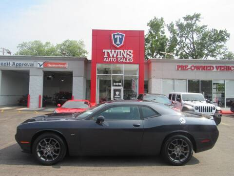 2018 Dodge Challenger for sale at Twins Auto Sales Inc in Detroit MI