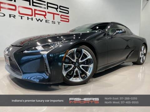 2020 Lexus LC 500 for sale at Fishers Imports in Fishers IN