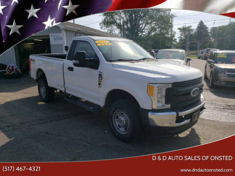 2017 Ford F-250 Super Duty for sale at D & D Auto Sales Of Onsted in Onsted MI