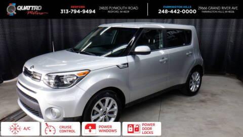 2018 Kia Soul for sale at Quattro Motors 2 - 1 in Redford MI