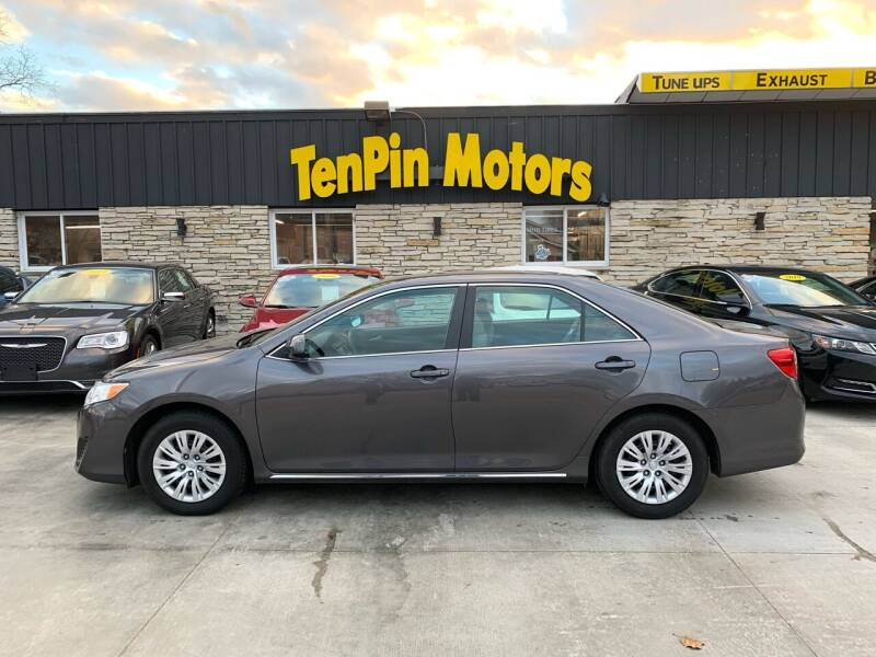 2014 Toyota Camry for sale at TenPin Motors LLC in Fort Atkinson WI