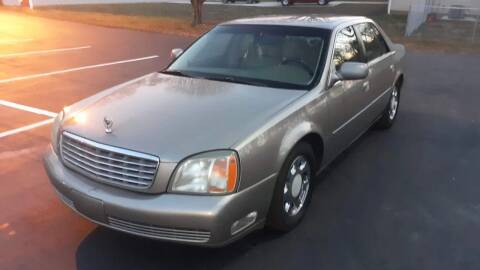 2002 Cadillac DeVille for sale at Happy Days Auto Sales in Piedmont SC
