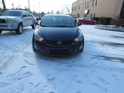 2011 Hyundai Elantra for sale at Heritage Truck and Auto Inc. in Londonderry NH