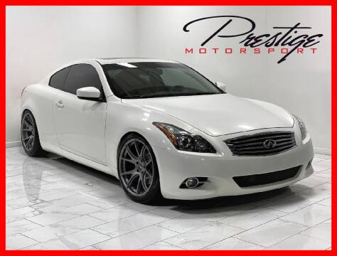 2013 Infiniti G37 Coupe for sale at Prestige Motorsport in Rancho Cordova CA