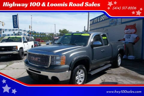 2011 GMC Sierra 1500 for sale at Highway 100 & Loomis Road Sales in Franklin WI