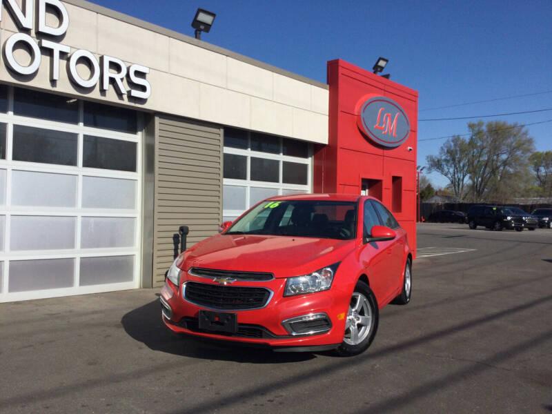 2016 Chevrolet Cruze Limited for sale at Legend Motors of Ferndale - Legend Motors of Detroit in Detroit MI