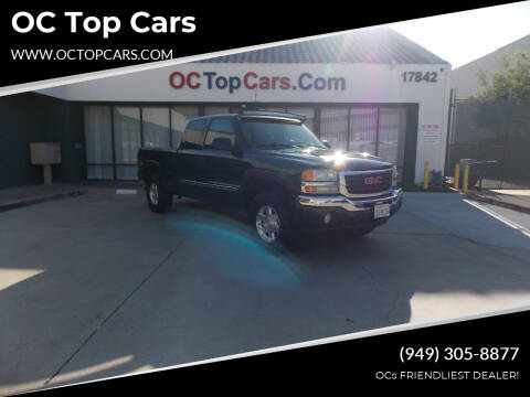 2005 GMC Sierra 1500 for sale at OC Top Cars in Irvine CA