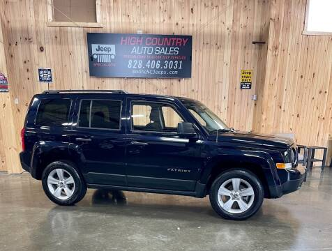 2011 Jeep Patriot for sale at Boone NC Jeeps-High Country Auto Sales in Boone NC