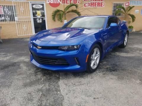 2018 Chevrolet Camaro for sale at VALDO AUTO SALES in Hialeah FL