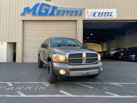 2006 Dodge Ram Pickup 1500 for sale at MGI Motors in Sacramento CA