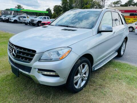 2014 Mercedes-Benz M-Class for sale at BRYANT AUTO SALES in Bryant AR
