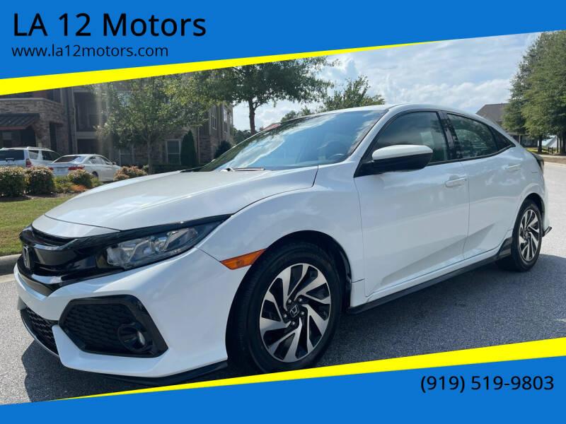 2018 Honda Civic for sale at LA 12 Motors in Durham NC