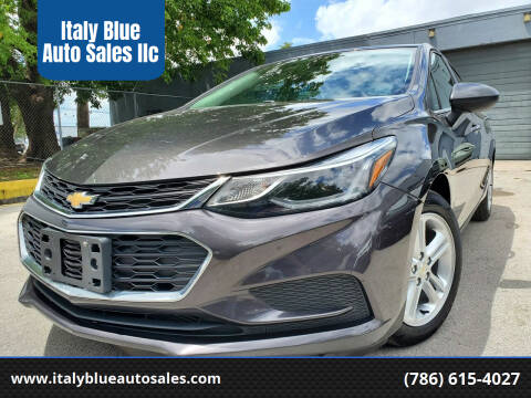 2017 Chevrolet Cruze for sale at Italy Blue Auto Sales llc in Miami FL