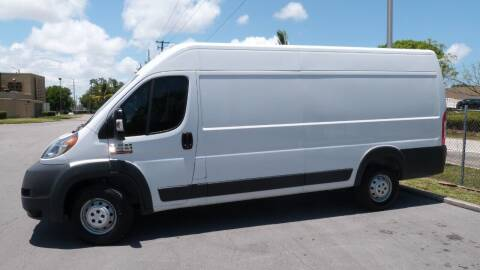 2015 RAM ProMaster Cargo for sale at Quality Motors Truck Center in Miami FL