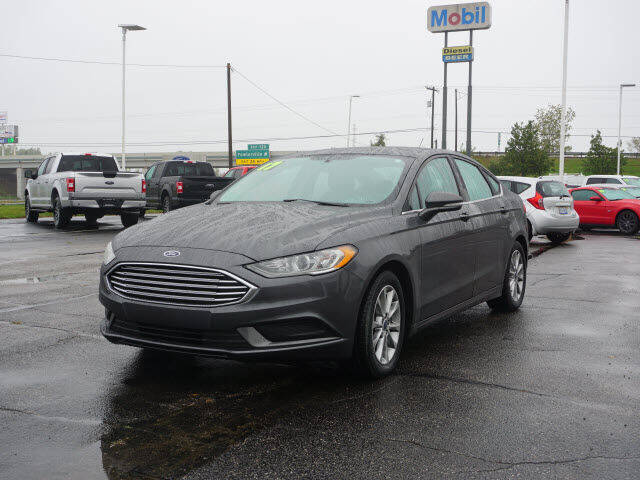 2017 Ford Fusion for sale at FOWLERVILLE FORD in Fowlerville MI