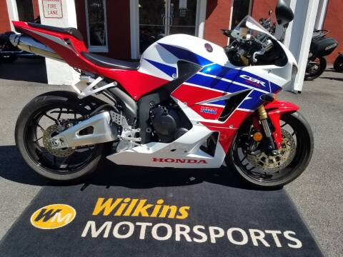 2013 Honda CBR600RR for sale at WILKINS MOTORSPORTS in Brewster NY